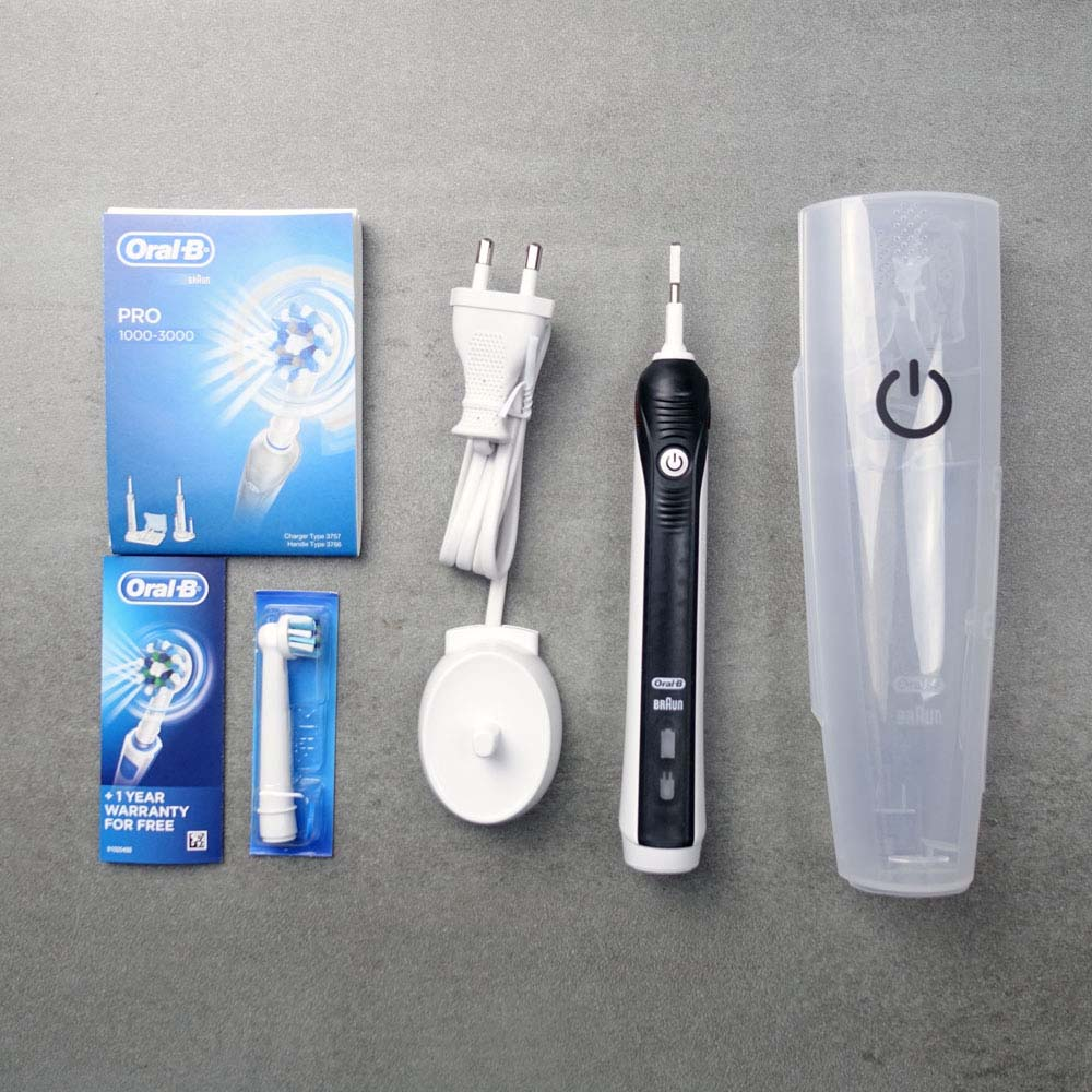 Oral-B Pro 2 2500 Review - Electric Teeth 1ad2fb4b58c16
