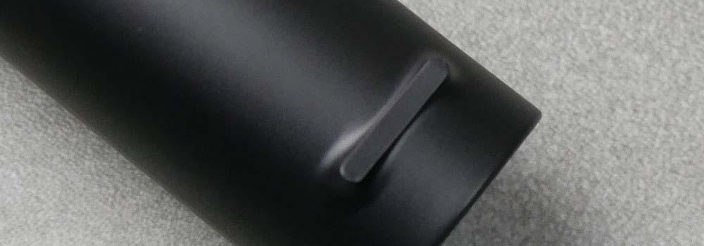 Notch on back of brush handle