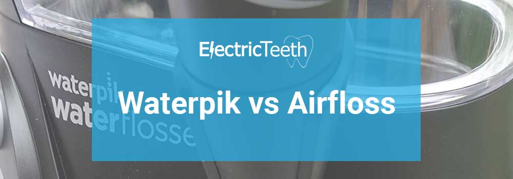 Waterpik vs Airfloss 12