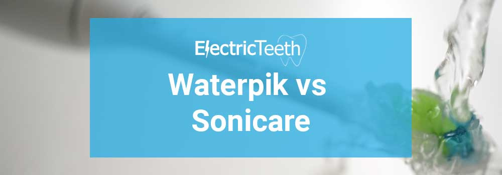Waterpik vs Sonicare - Header Image