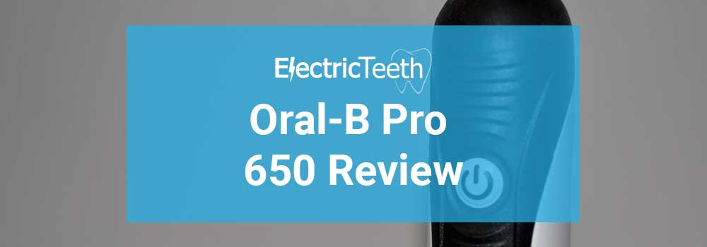 Oral-B Pro 650 Review
