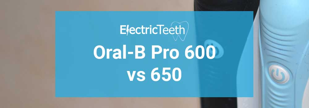Oral-B Pro 600 vs 650 1