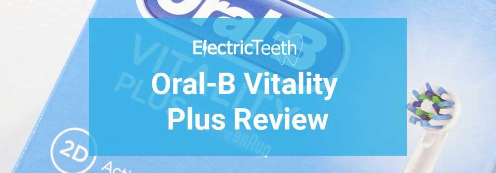 Oral-B Pro Vitality Plus Review