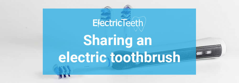 Sharing an electric toothbrush