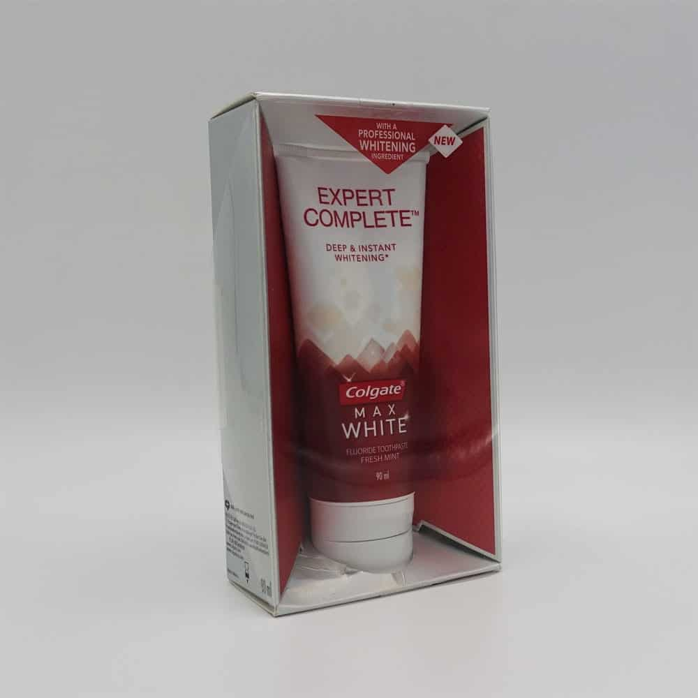 Colgate Max White Expert Complete Whitening Toothpaste Review 1