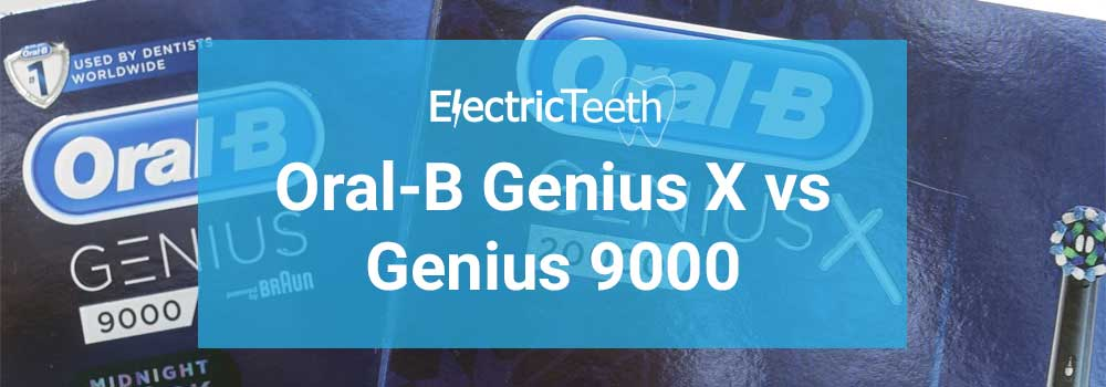 Oral-B Genius X vs Genius 9000 1