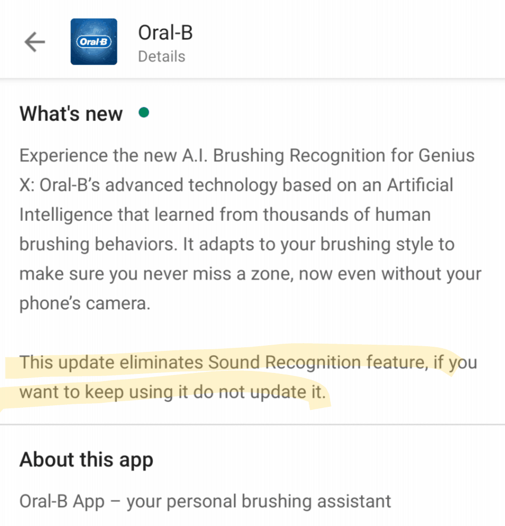 Oral-B Sound Connectivity Explained 1