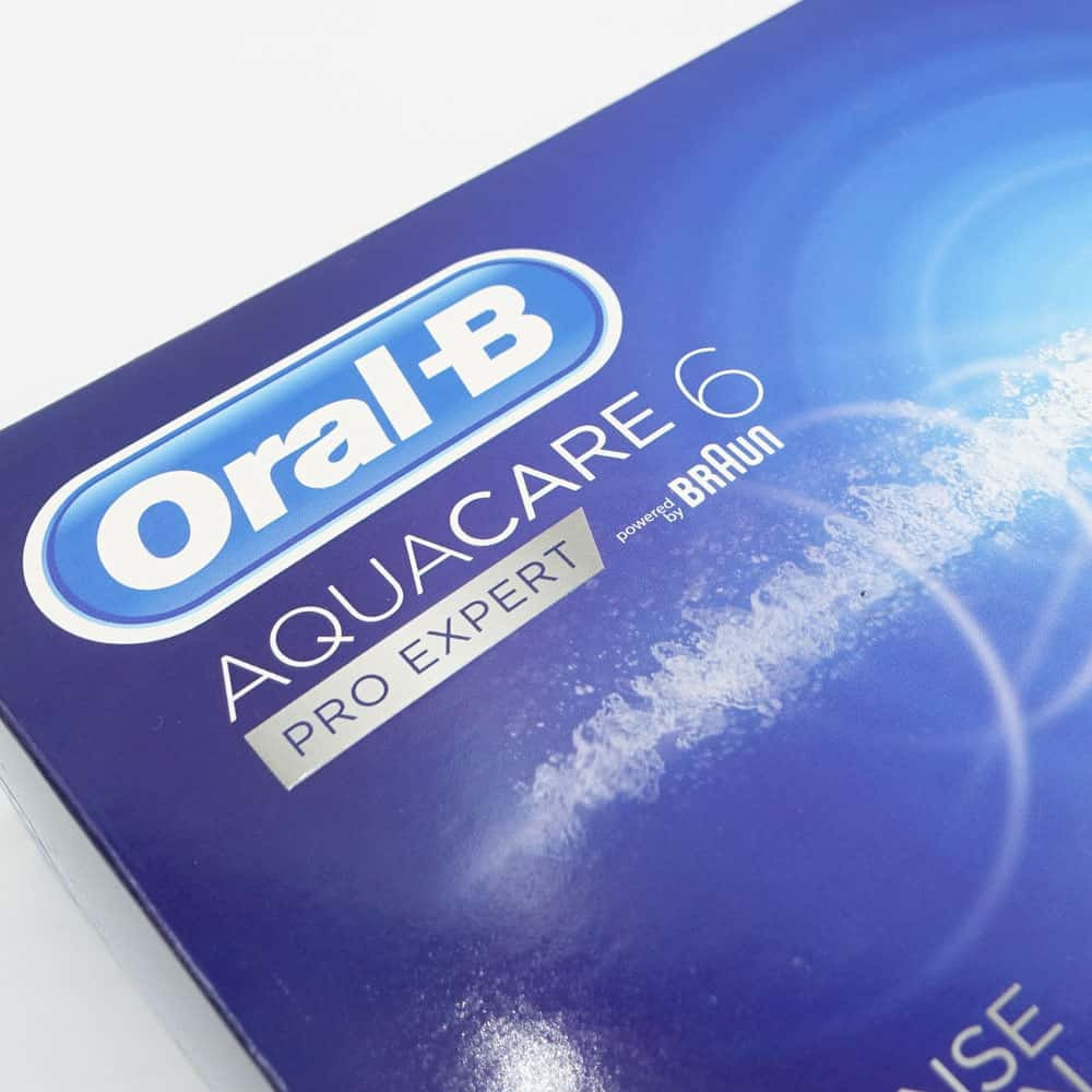 Oral-B Aquacare 6 Pro-Expert Water Flosser Review 5