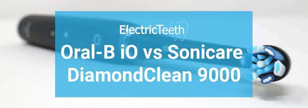 Sonicare DiamondClean 9000 vs Oral-B iO
