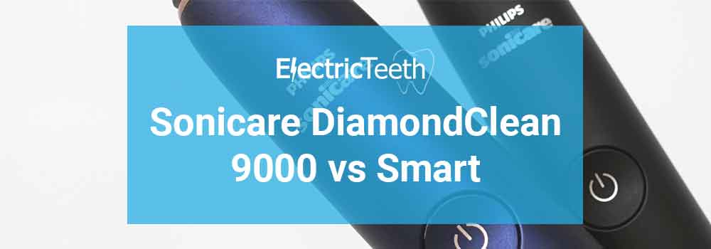 Sonicare DiamondClean 9000 vs DiamondClean Smart