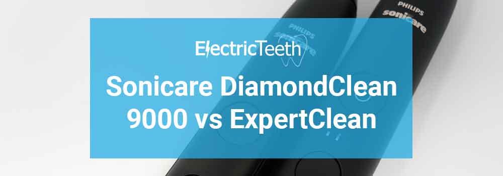 Sonicare ExpertClean vs DiamondClean 9000 Header Image