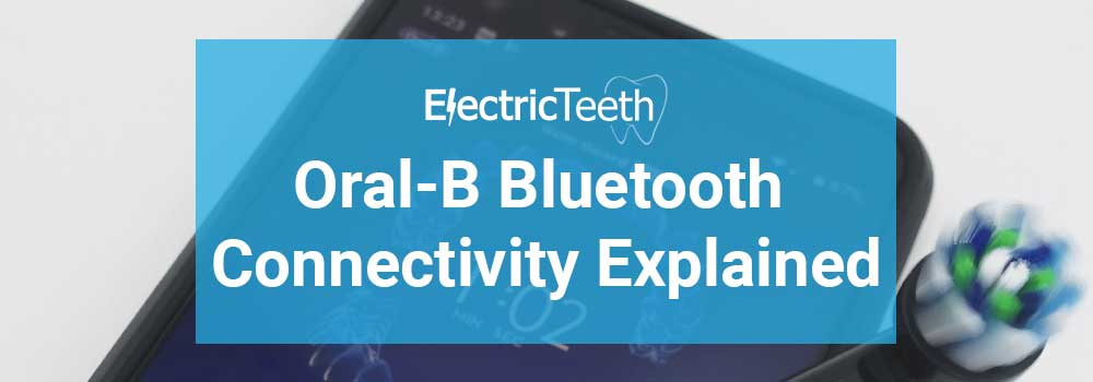 Oral-B Bluetooth Connectivity Header Image