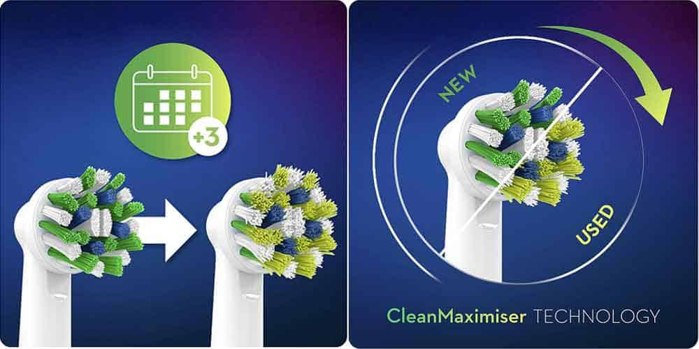Oral-B Clean Maximiser Brush Heads