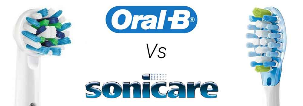 Sonicare vs Oral-B 1