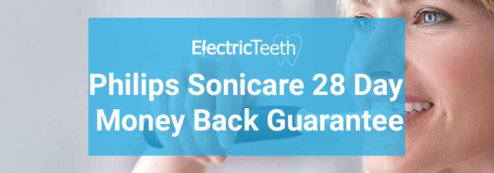 Philips Sonicare 28 Day Money Back Guarantee 1