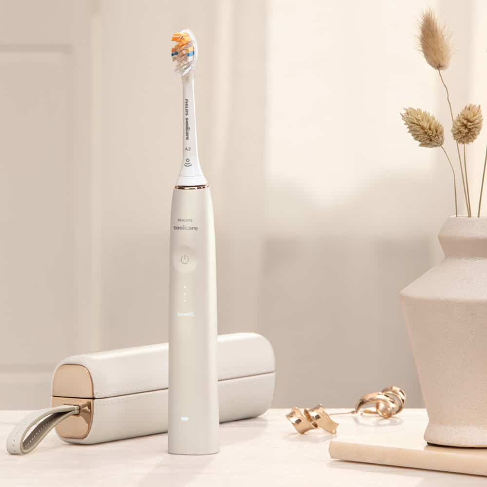 Philips Sonicare 9900 Prestige Electric Toothbrush Gold With Travel Case