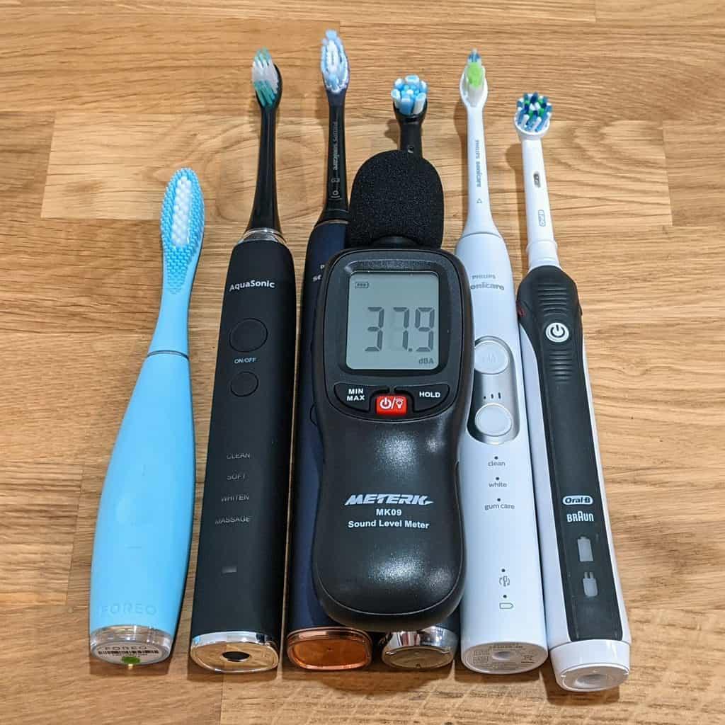 Toothbrushes & Decibel Meter
