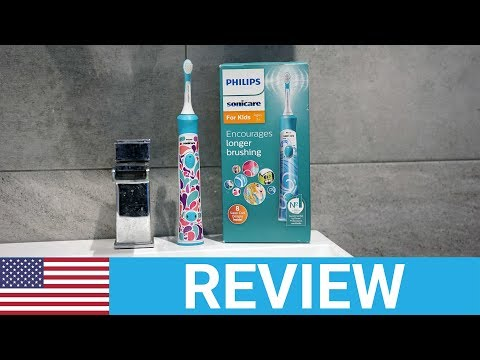 Philips Sonicare For Kids Connected (HX6321/02) Electric Toothbrush Review - USA