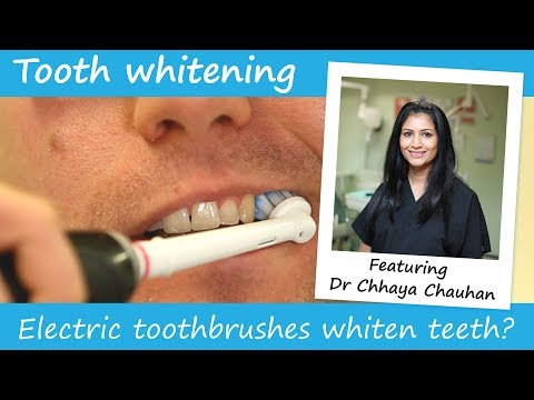 Do electric toothbrushes whiten teeth?