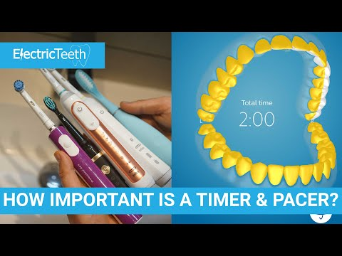 Quadpacer/30 Second Timer - Electric Toothbrush Features - How Important?