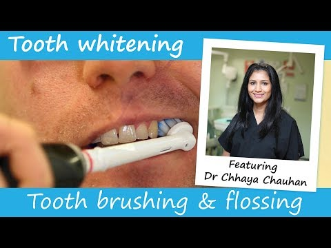 Why it's important to brush and floss regularly if you want to keep your teeth white.