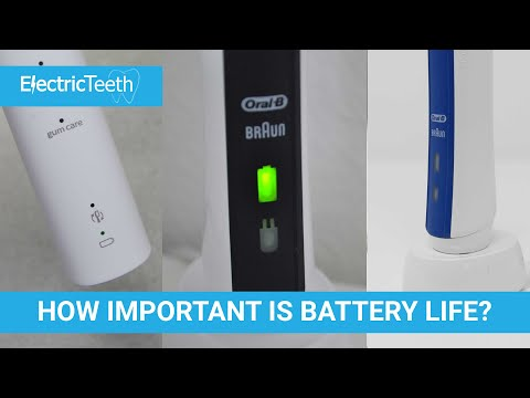 Battery Life - Electric Toothbrush Features - How Important?