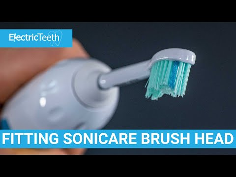 How To Fit & Remove Sonicare Brush Heads