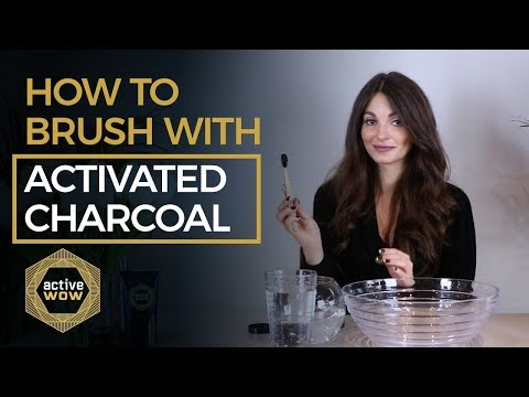 Charcoal Teeth Whitening - Whiten your teeth at home naturally! - How to use Active Wow