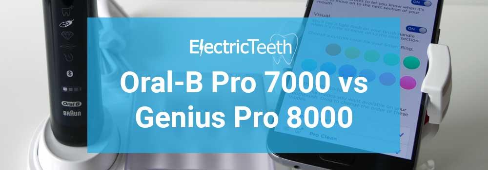 Oral-B Pro 7000 vs Genius Pro 8000 59