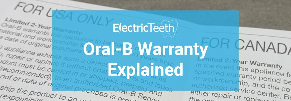 Oral-B warranty: how it works and what it covers 1