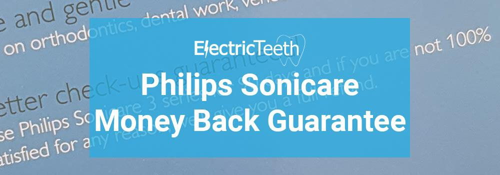 Sonicare Money Back Guarantee