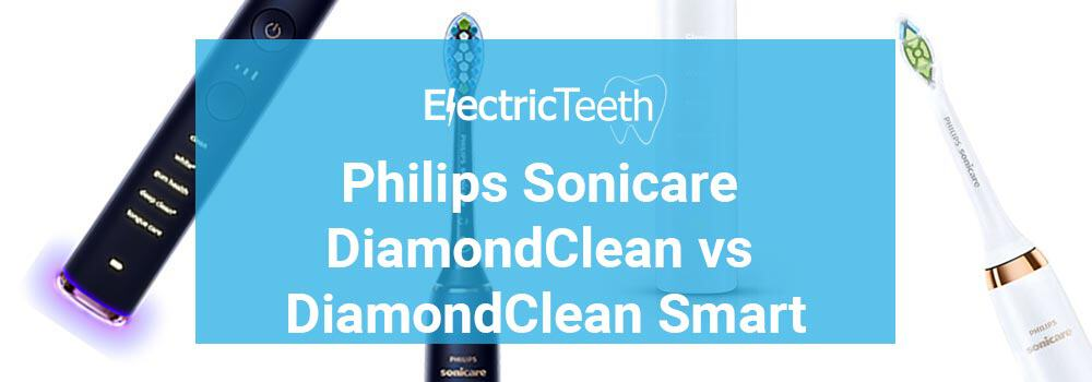 Sonicare DiamondClean vs DiamondClean Smart