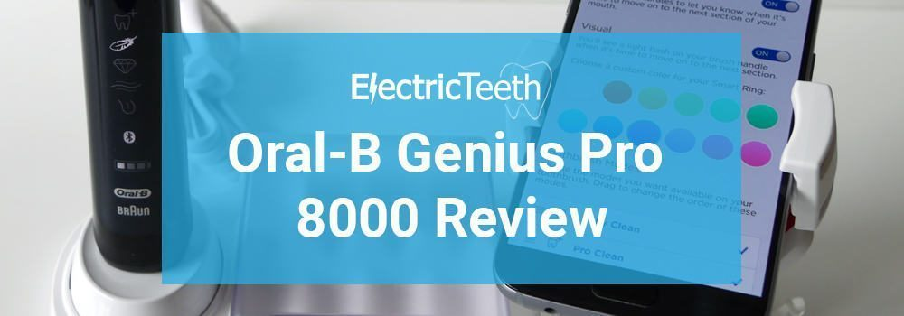 Oral-B Genius Pro 8000 Review