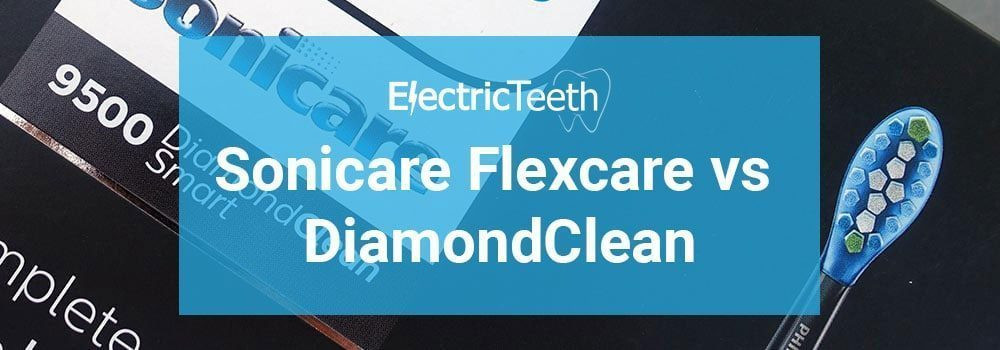 Philips Sonicare Flexcare vs DiamondClean 8