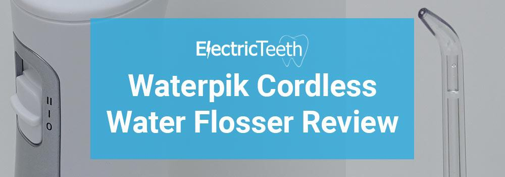 Waterpik Cordless Freedom Water Flosser WF-03 Review 1