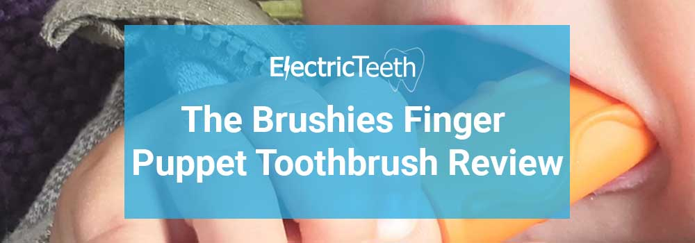 The Brushies Finger Puppet Toothbrush Review - Header Image