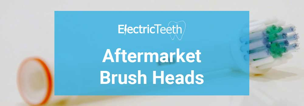 Brush heads for Sonicare and Oral-B- not original