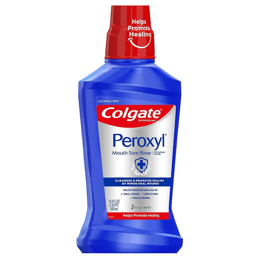 Colgate Peroxyl Mouth Sore Rinse Review 6