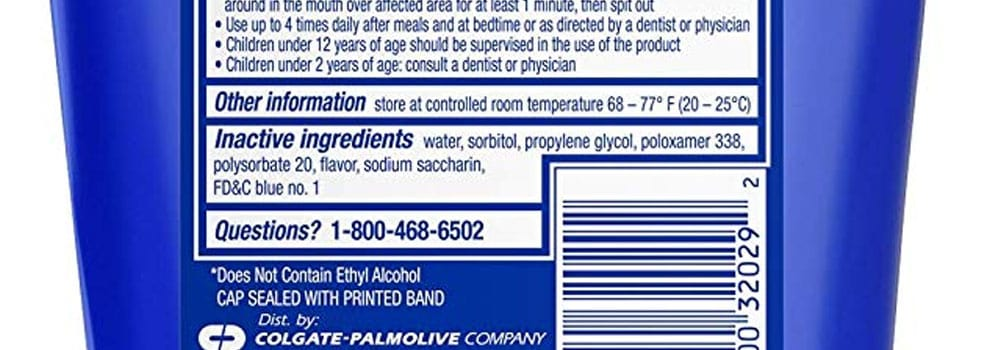 Colgate Peroxyl Mouth Sore Rinse Review 5