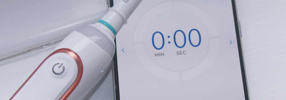 Oral-B toothbrush with smartphone app