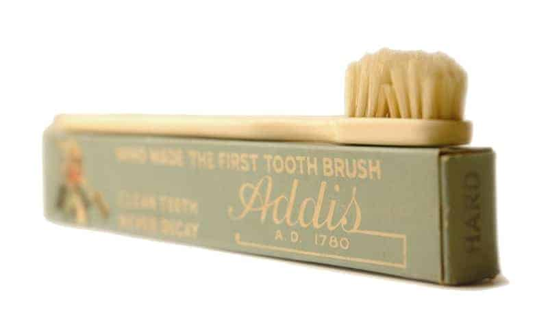 William Addis toothbrush