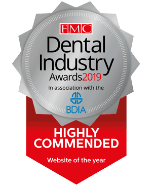 Dental Industry Awards — Website Of The Year — Highly Commended