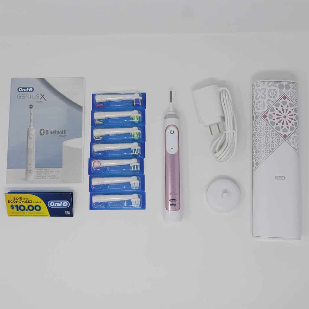 Box content Oral-B Genius X