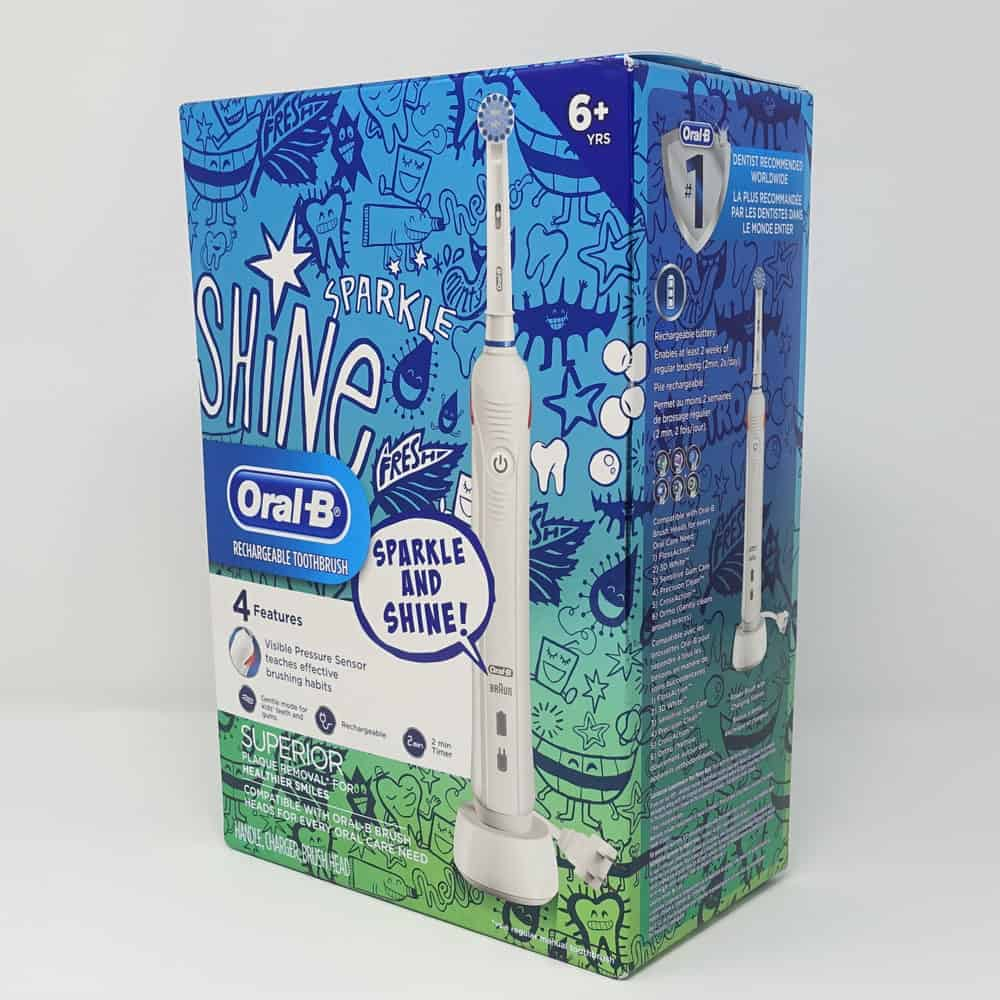 Oral-B Kids 6+ Electric Toothbrush Review 14