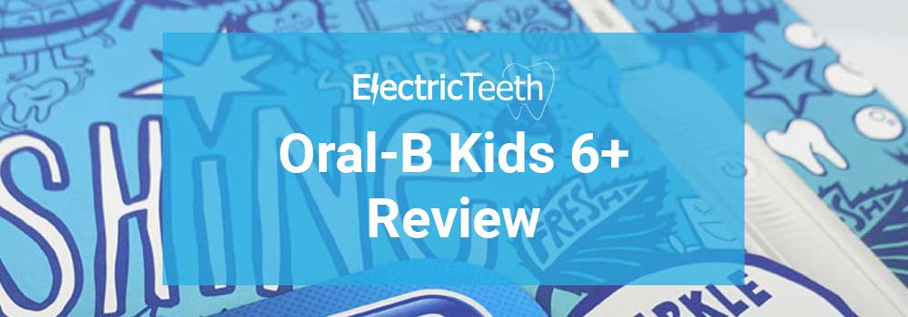 Oral-B Kids 6 Plus Electric Toothbrush