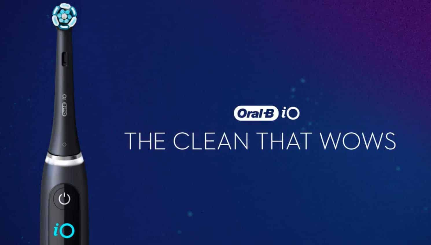Oral-B iO electric toothbrush