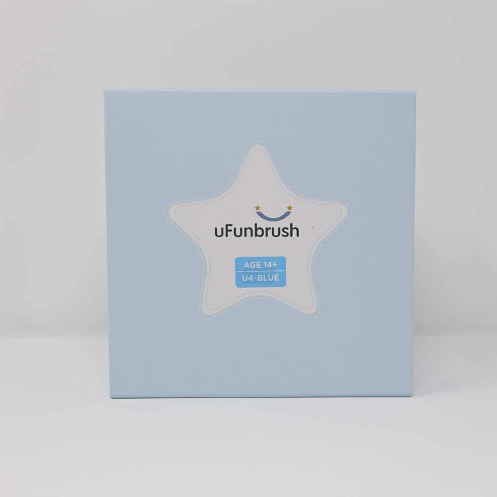 uFunbrush mouthpiece toothbrush box