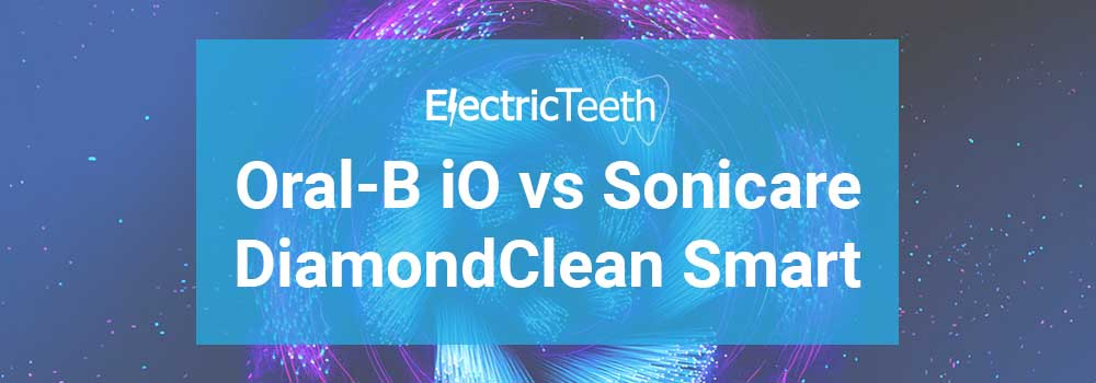 Oral-B iO vs Sonicare DiamondClean Smart