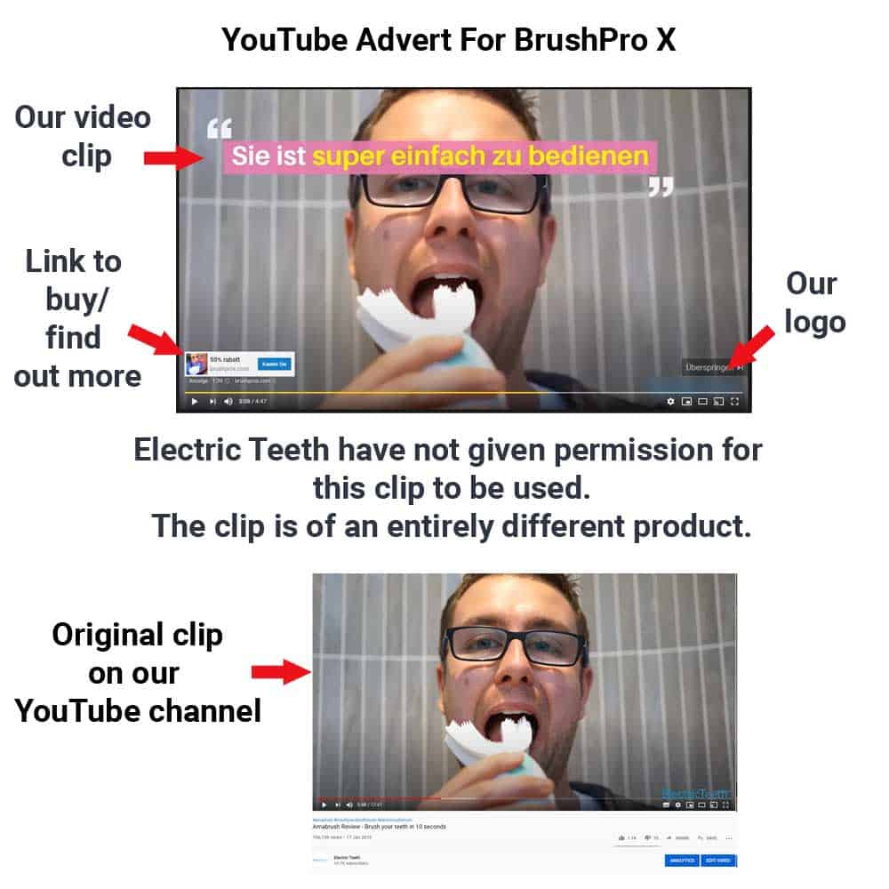 BrushPro X Toothbrush Review - Do Not Buy! 3