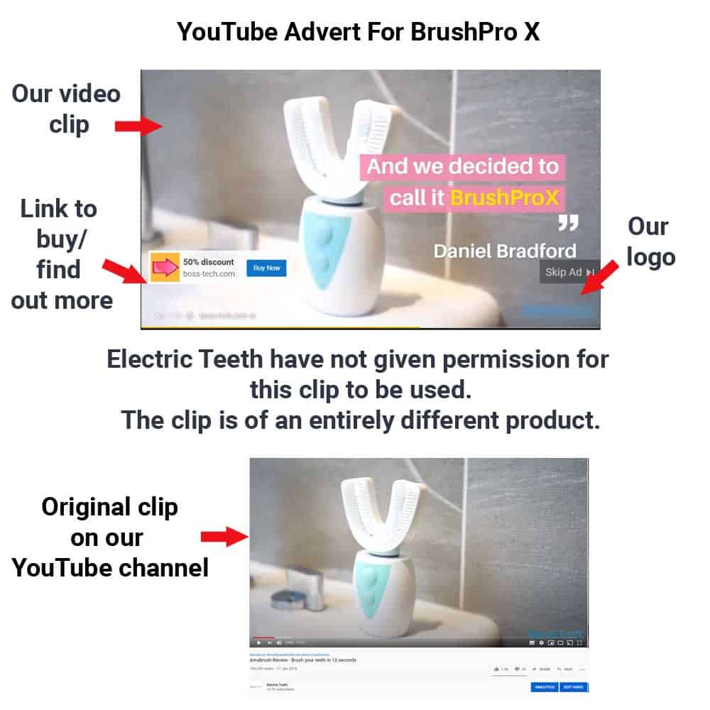 BrushPro X Toothbrush Review - Do Not Buy! 4